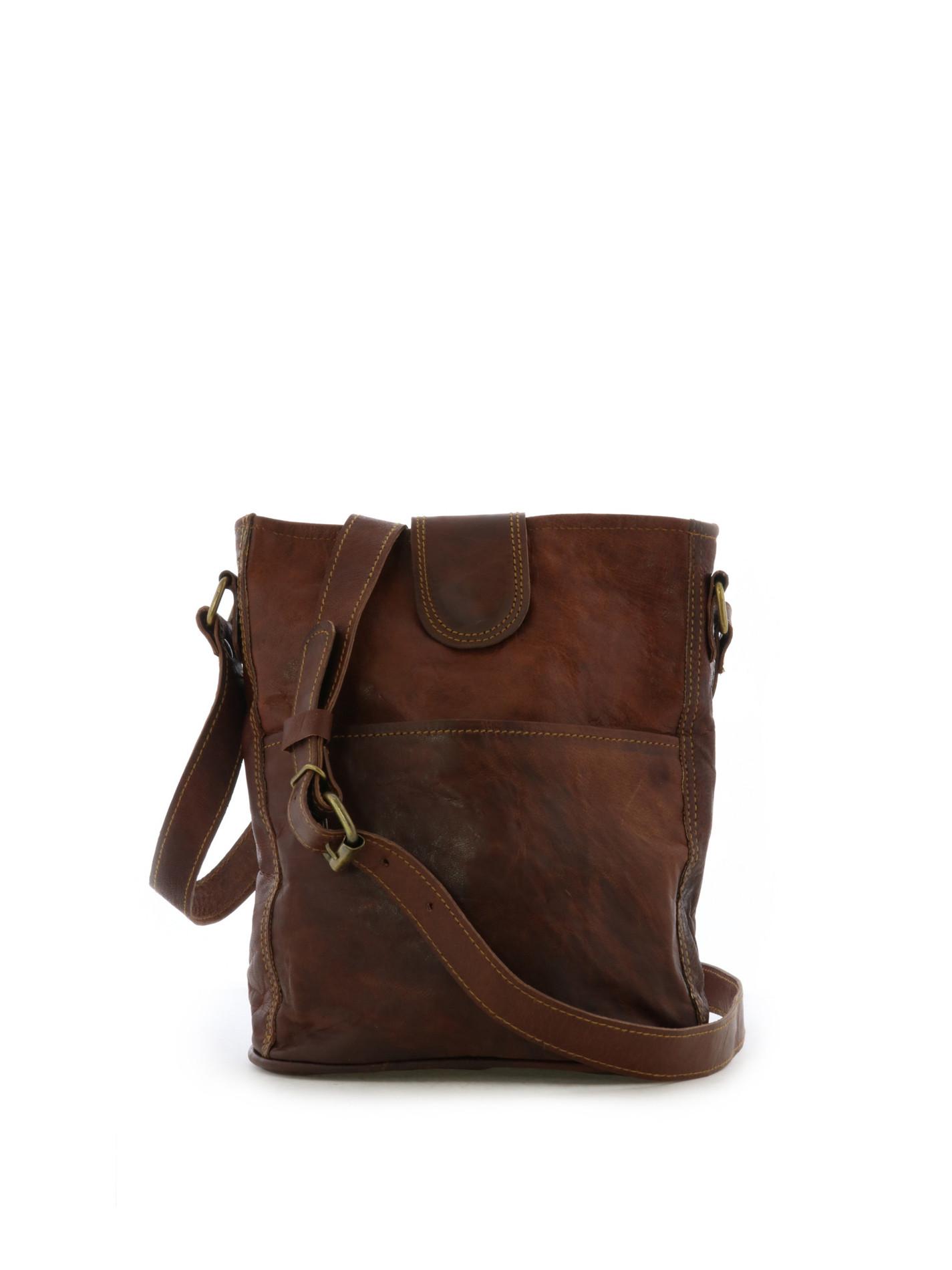 Petit sac bandouillère - Tan